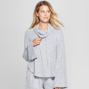 NWT Womens Cozy Pullover Grey XS Pajama Top (7/45)